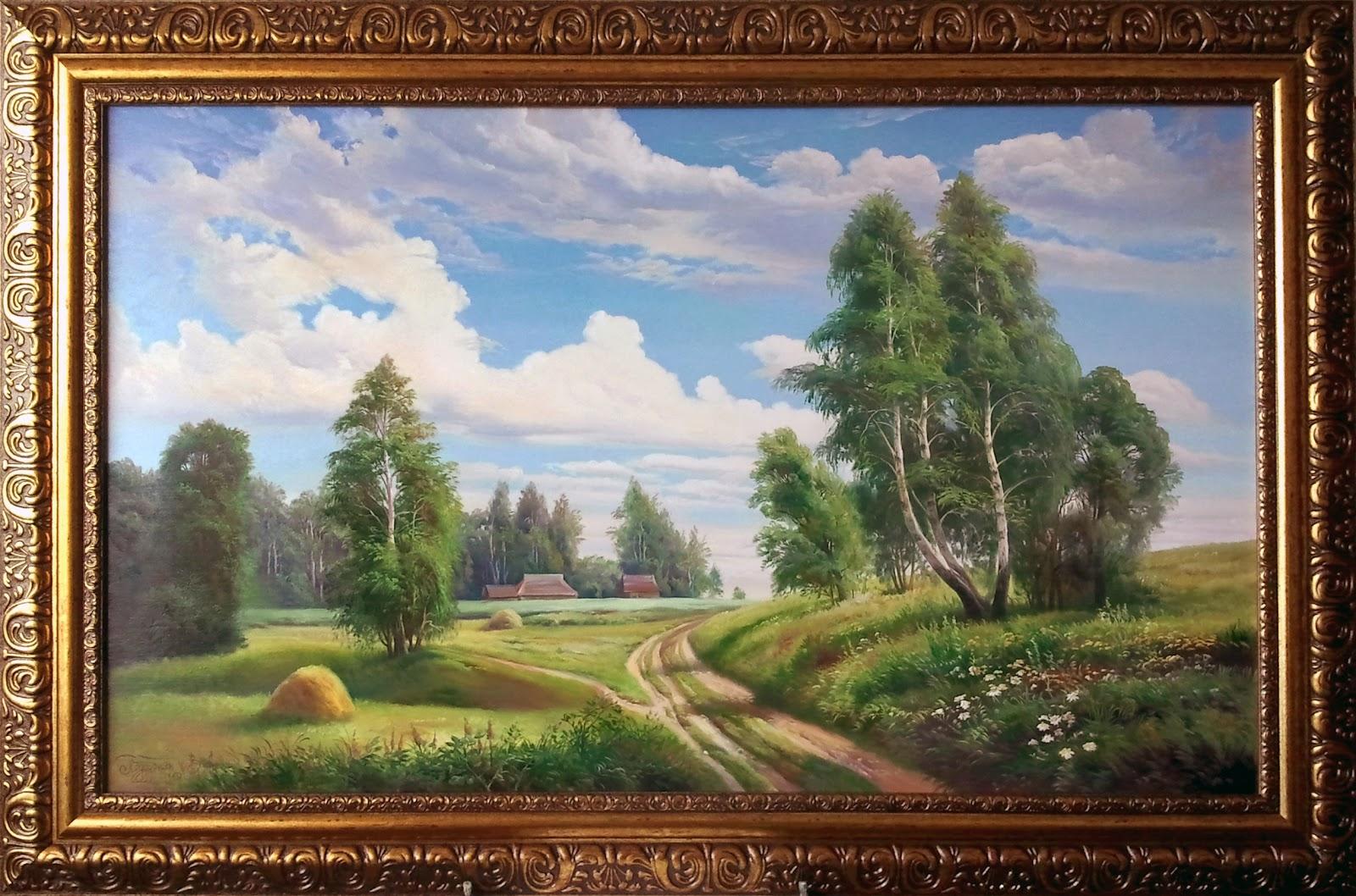 Картина маслом «Дорога домой» ~ ART GALLERY ...: art7gallery.blogspot.com/2012/06/blog-post_04.html