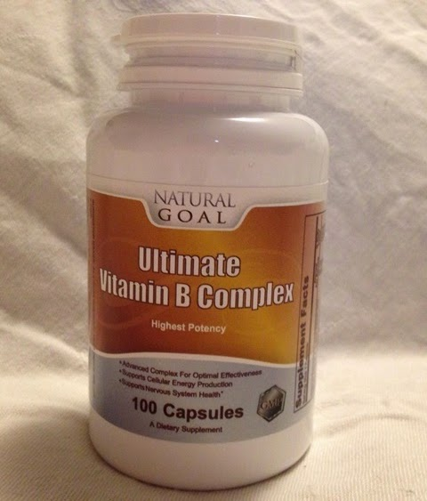 100 capsule bottle of Natural Goal Ultimate Vitamin B Complex