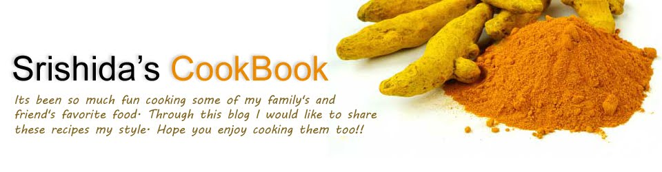Srishida's CookBook