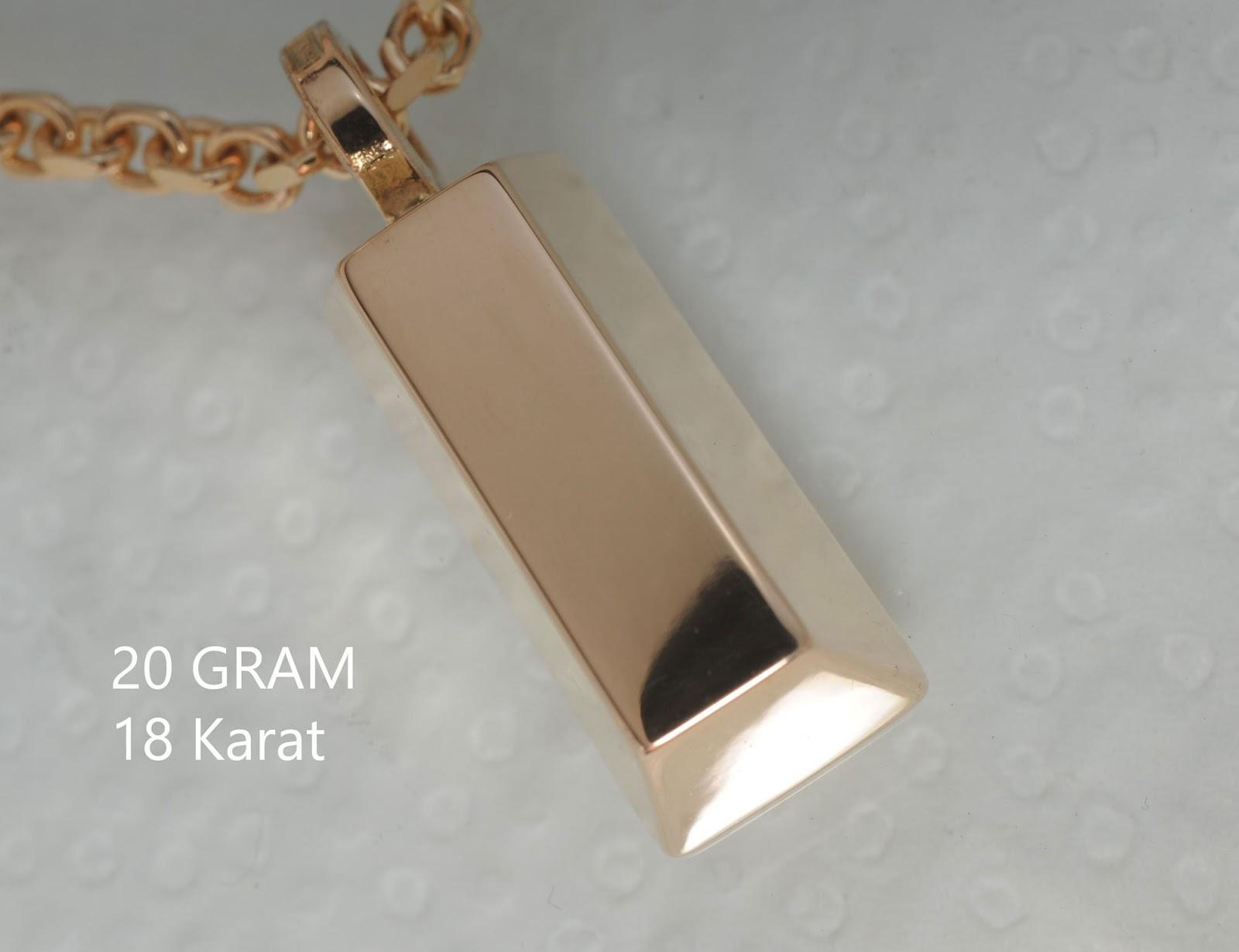 Guldtacka 20 gram massiv