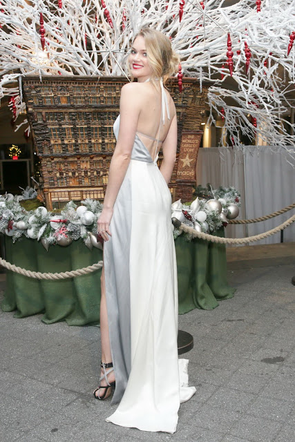 Fashion Model, @ Lindsay Ellingson - The Winter Wonderland Ball in the Bronx, New York