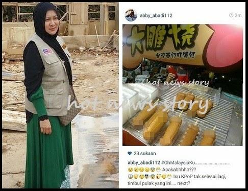 Abby Abadi Kecam Peniaga Jual Makanan Berbentuk Lucah Di Negara Ini