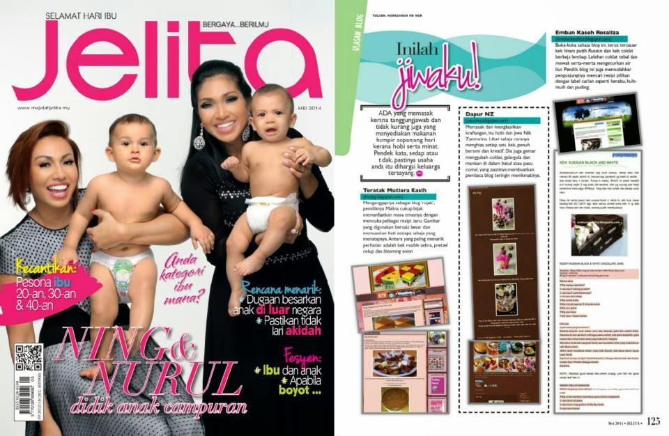 Embunrosaliza Di Majalah Jelita Mei 2014