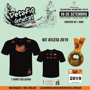 Desafio das Grutas 2019 - Inscrições abertas - Dia 08 de Setembro - Sitio do Rod - Lagoa Santa MG