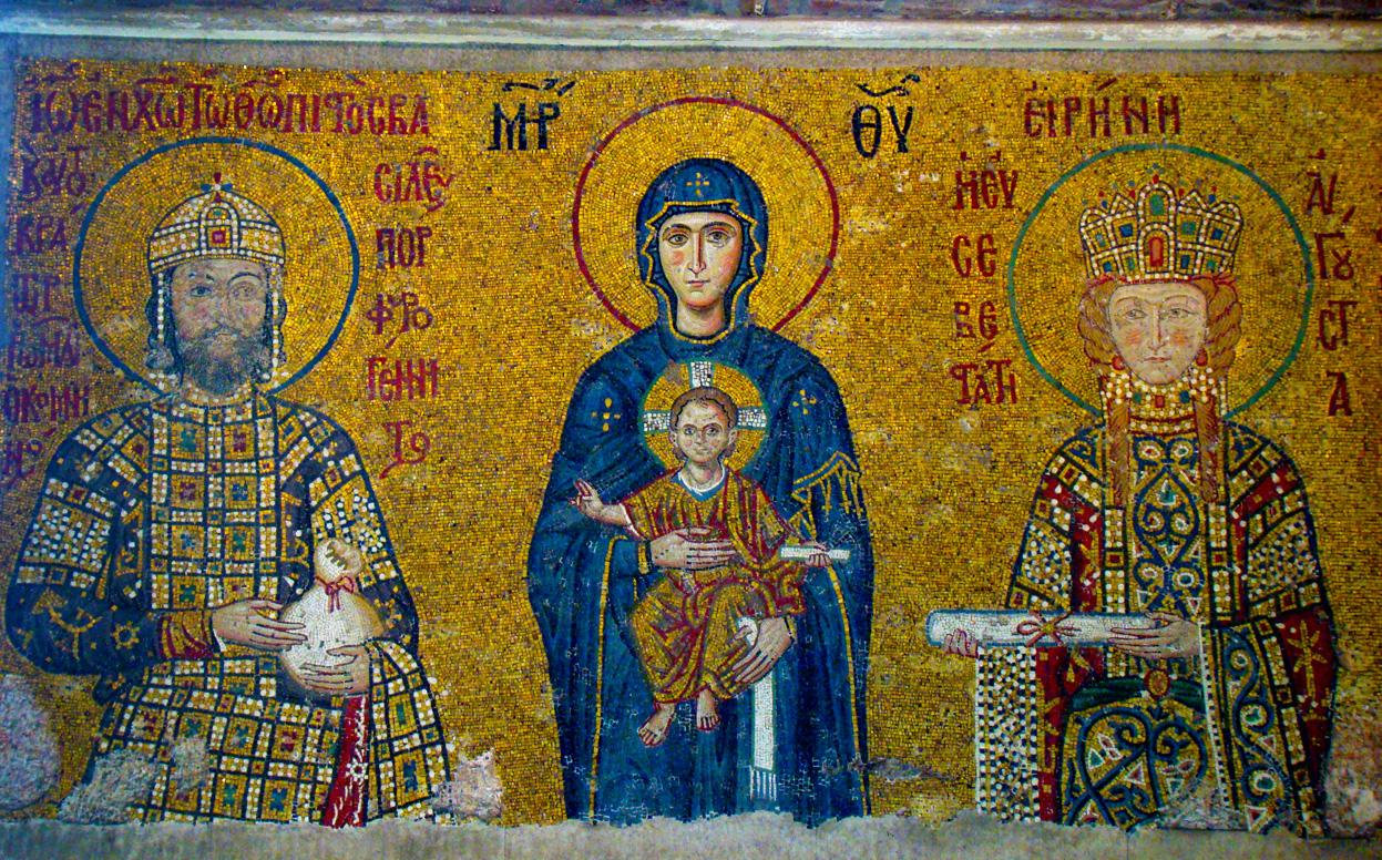 Byzantine late Roman Empire  Art of Medieval Europe