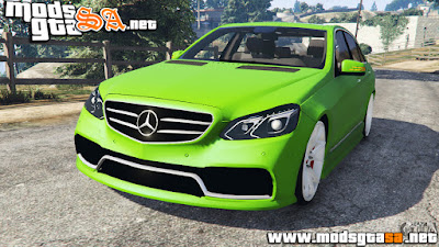 V - Mercedes-Benz E63 para GTA V PC