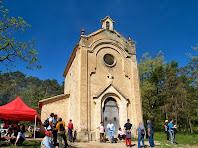 La capella de Sant Roc, orientada a llevant