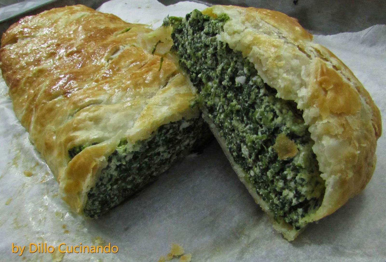 Torta rustica di ricotta e spinaci
