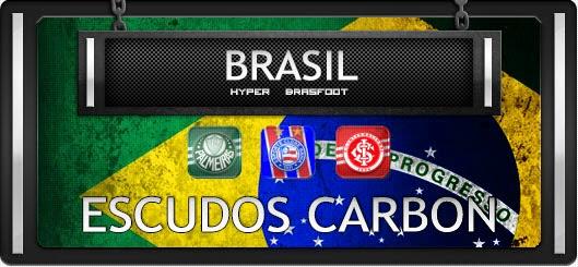 Brasfoot 2015 Escudos Carbon bRASILEIRÃO, Escudos Carbon campeonato brasileiro, brasileirão série a brasfoot 2015, bf15 registrado, sem vírus, brafoot15 sem protetor de link
