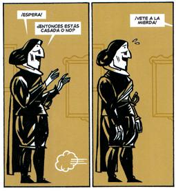 Las Meninas de Javier Olivares y Santiago García. comic biografía Velázquez historia