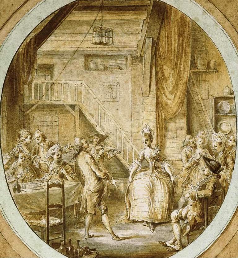 An 18th century dance