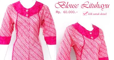 Baju Blouse Batik Lituhayu