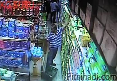 video rakaman pencuri susu perlis