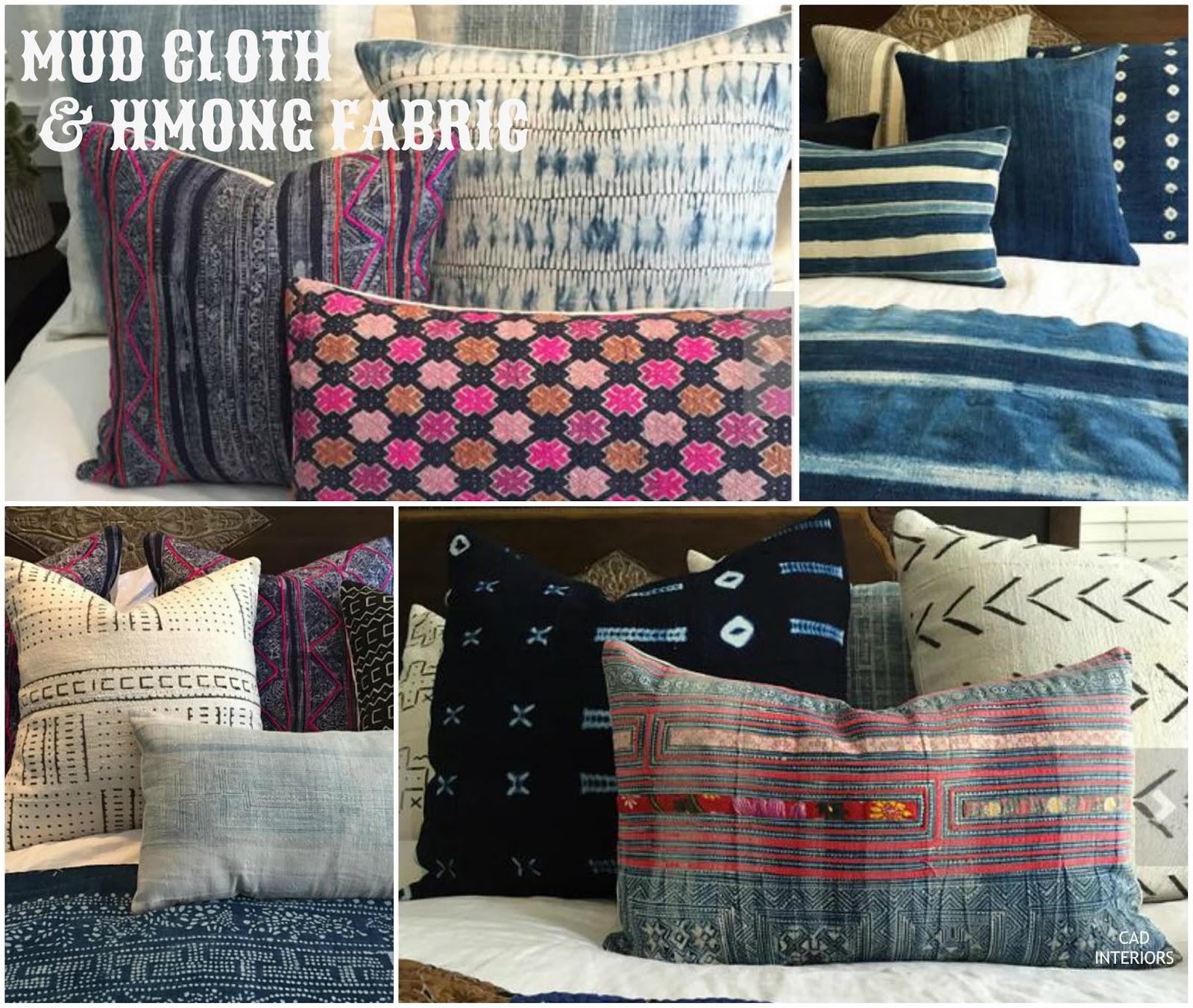 design trends fabrics bohemian boho chic vintage