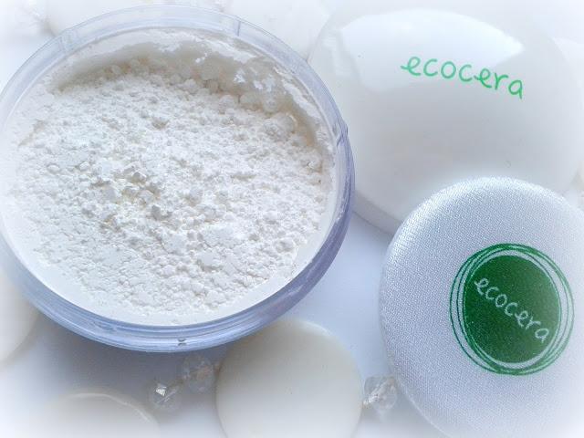 Puder ryżowy fixer ECOCERA recenzja
