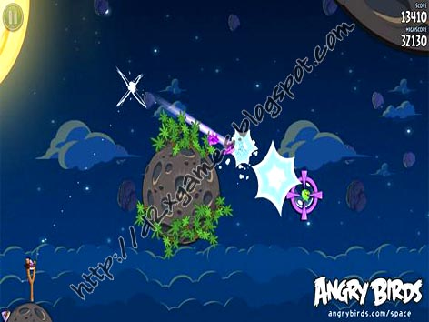 Free Download Games - Angry Birds Space