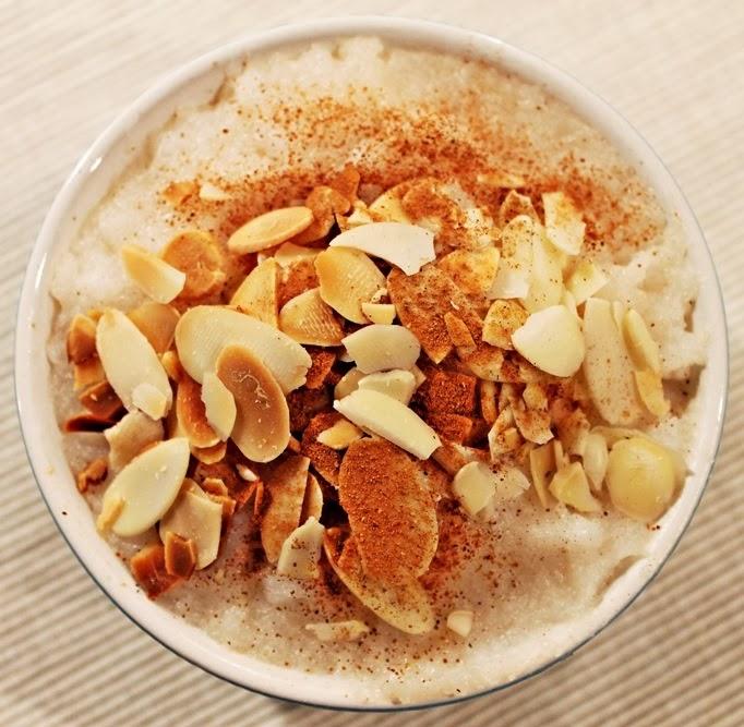pudding ryżowy z pieczonymi jabłkami Dziki Naśladowca