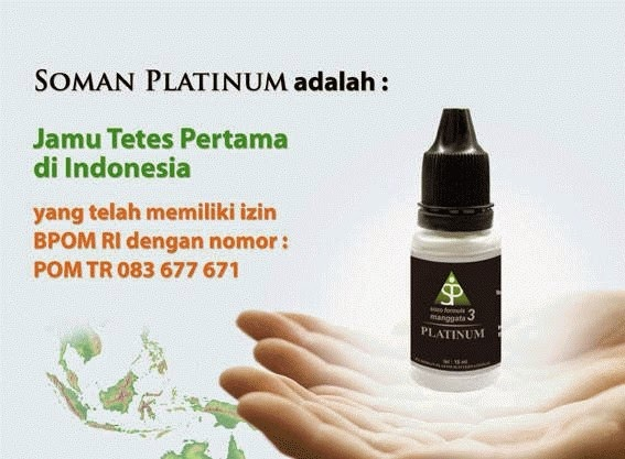 Soman 3 Platinum Obat Herbal Ginjal