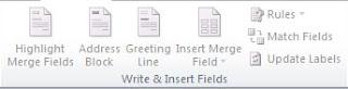 group write insert field