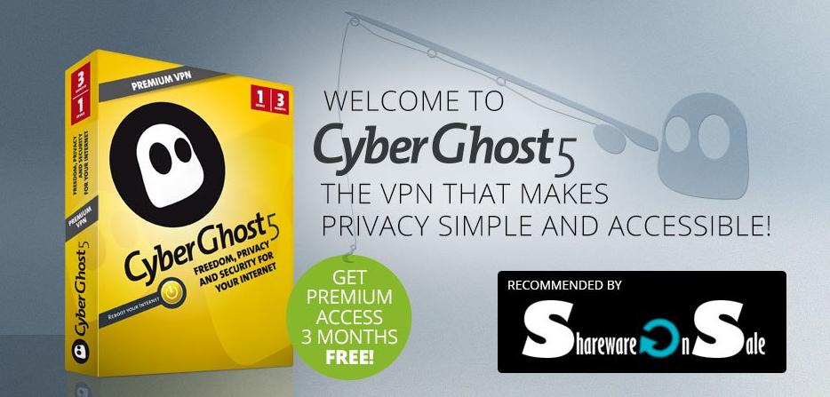 تفعيل VPN Cyberghost 5