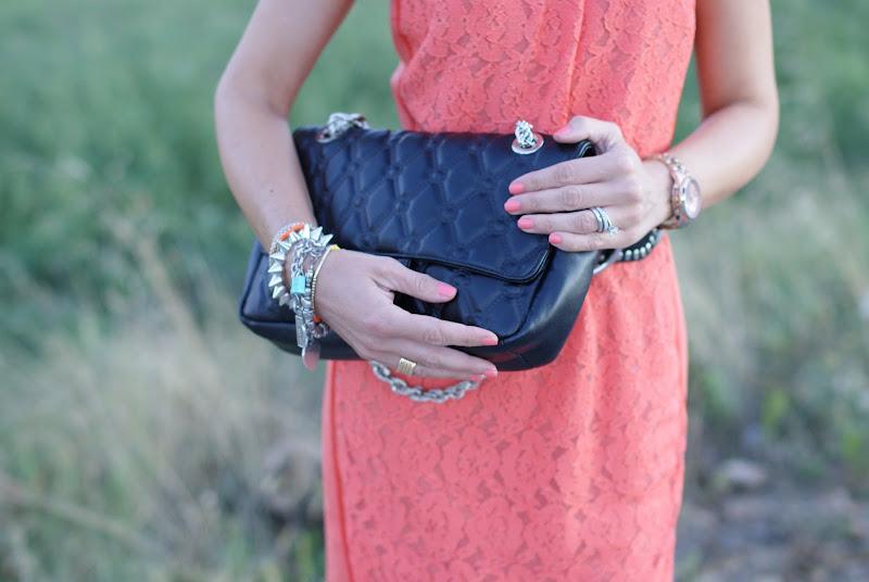 Secret Pon Pon bag, Essie nails