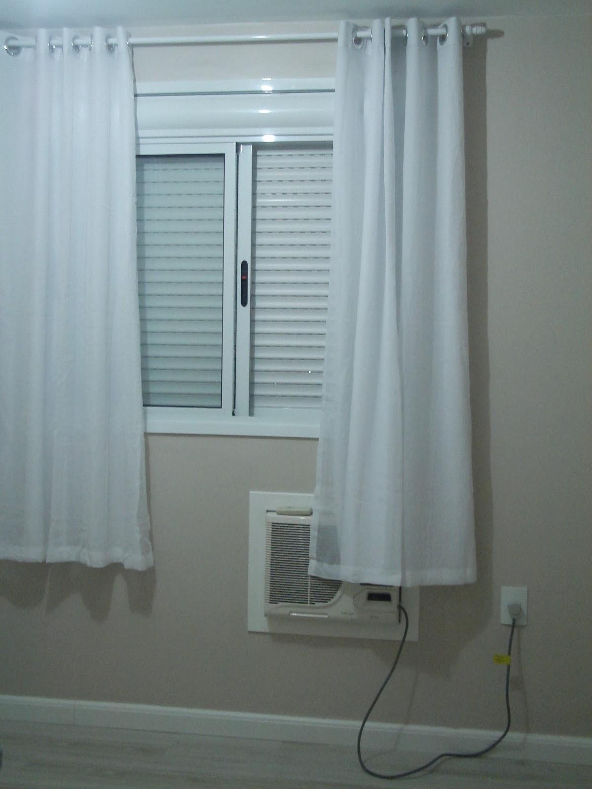 Casei, quero casa Cortina no quarto