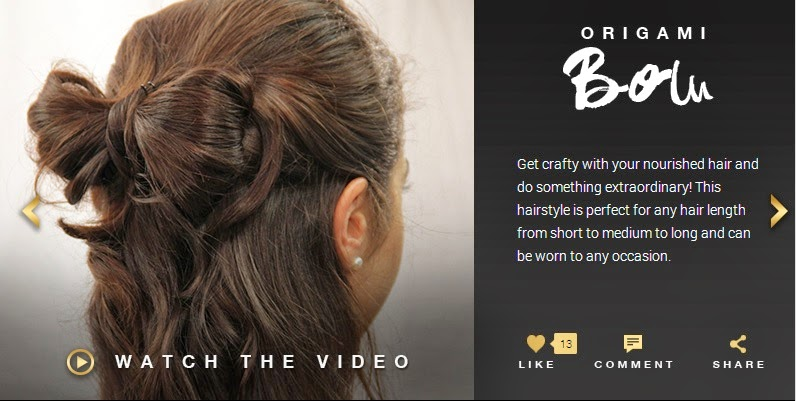L'Oréal Paris India HAIR ART by 6 Oil Nourish Origami bow