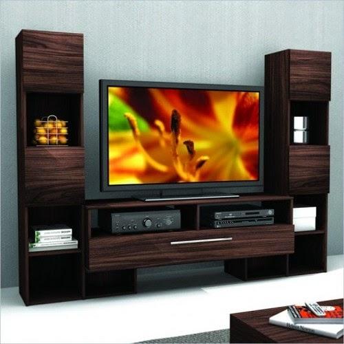 wooden modern tv cabinet design