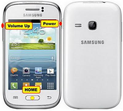 Cara Reset Samsung Galaxy young S6310 Lupa pola kunci