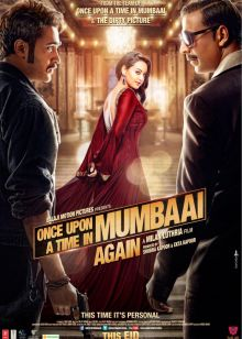 Once Upon Ay Time In Mumbaai Dobaara Poster
