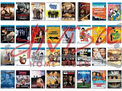 Lanzamientos de octubre en DVD y Blu-ray de Divisa Home Video