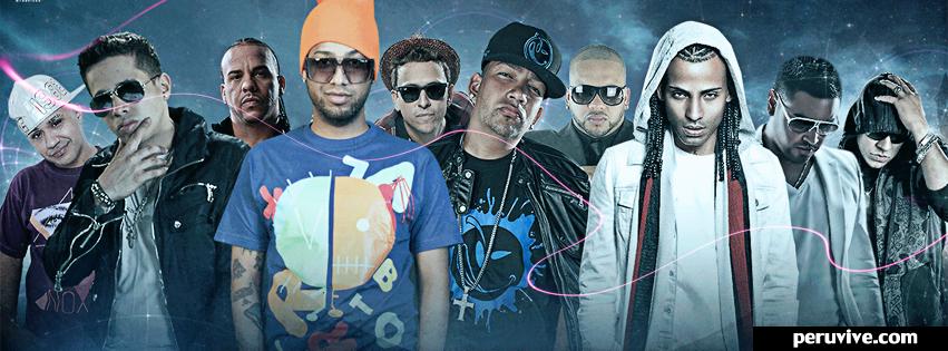 Portada para facebook reggaeton