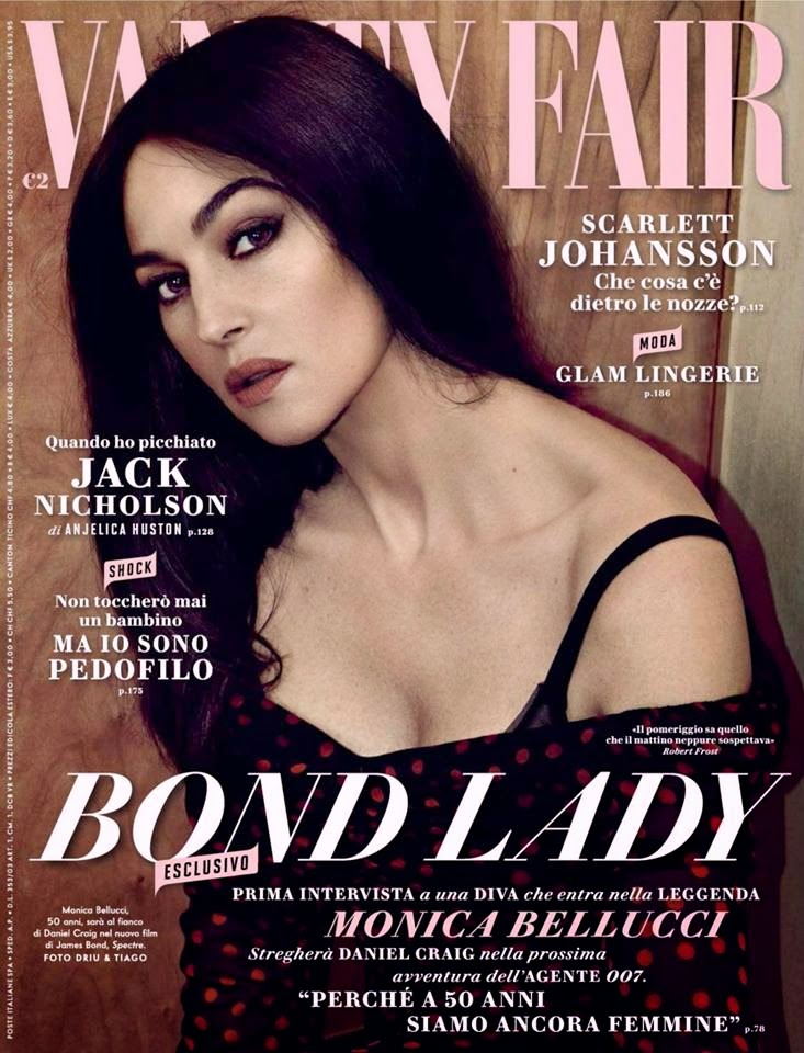 Monica Belluci covers Vanity Fair Italia December 2014