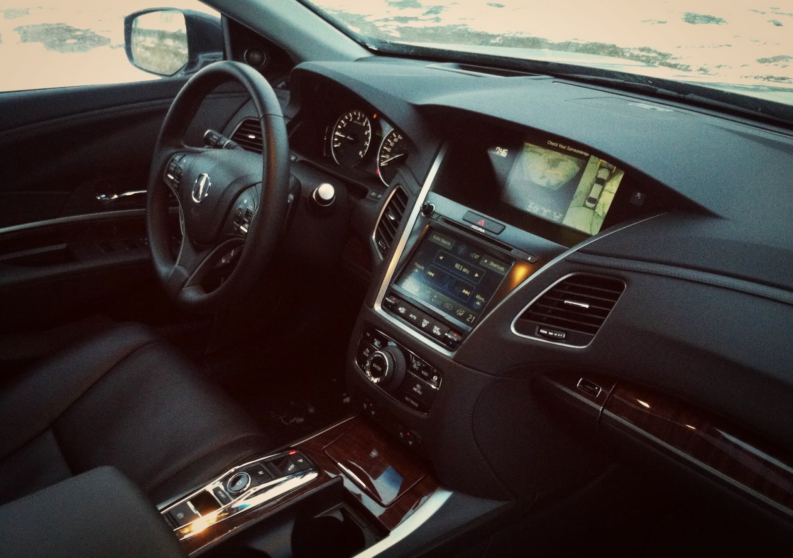 2015 Acura RLX Sport Hybrid interior