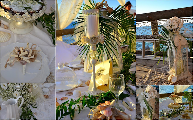 shabby chic on the beache details