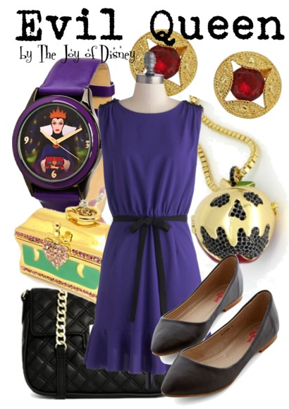 Evil Queen Snow White, Disney Fashion Blog, Snow White Clothes