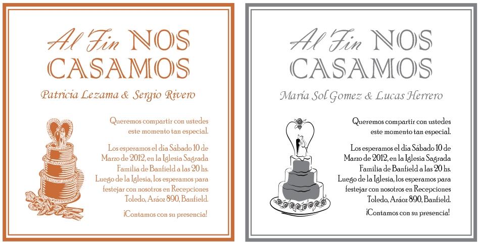 Mensaje Matrimonio Catolico : Creaciones personalizadas invitaciones