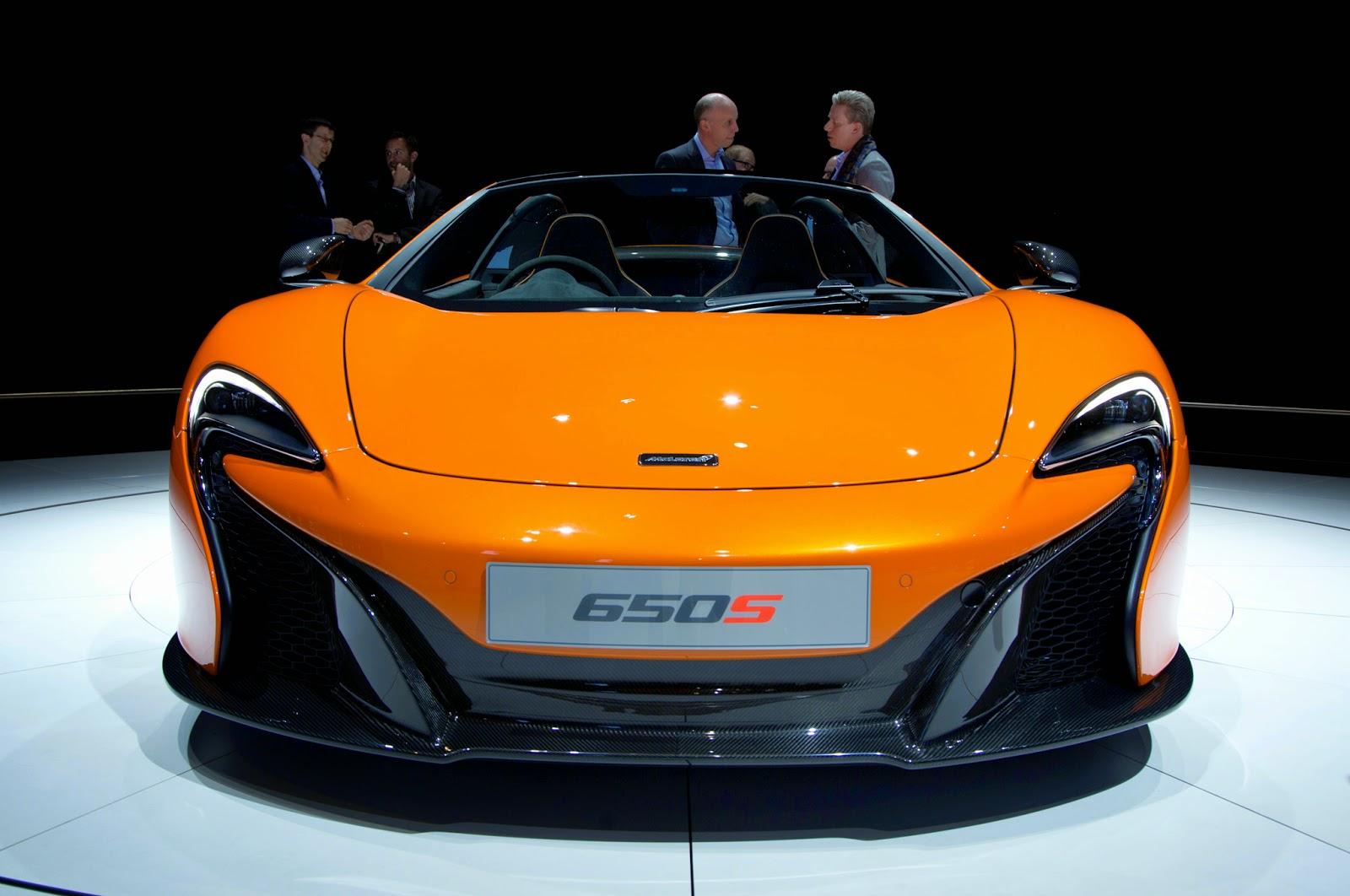 2015 McLaren 650s Spyder price