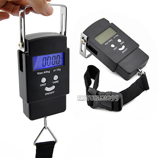 Useful 40kg/10g LCD Electronic Digital Mini Palm Scales Kitchen Weight Scale ER9