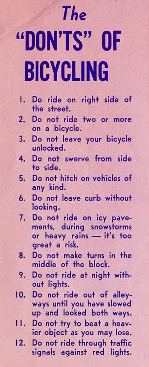 BicycleFriends.com: November 2013