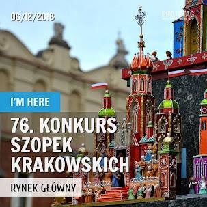 76. Konkurs Szopek Krakowskich - 6.12.2018