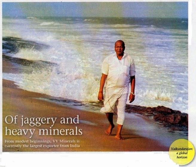 VV Mineral Vaikundarajn