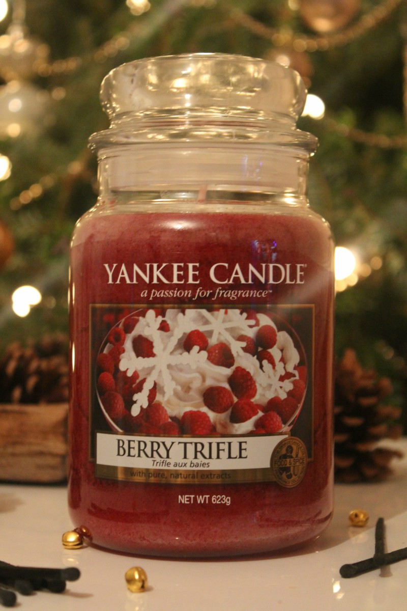 Yankee Berry Trifle Candle
