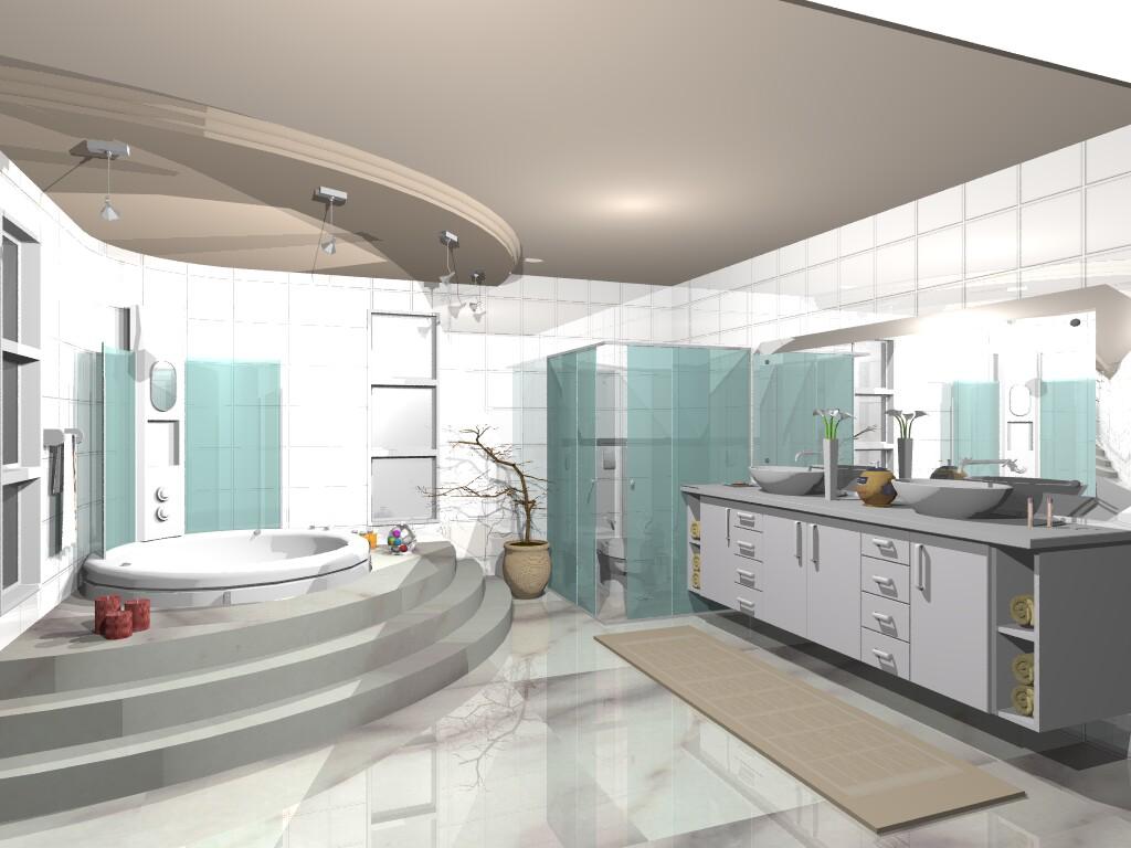 trouxe algumas dicas para você criar um banheiro legal para  #684841 1024x768 Banheiro Com Banheira De Canto