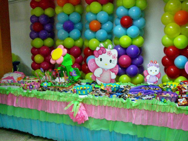 Decoracion Hello Kitty Fiestas Infantiles ~ Decoraci?n de fiestas infantiles de Hello Kitty  Imagui