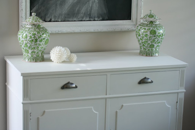 beautiful white painted hall cupboard for sale