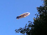 Goodyear Blimp at Reading