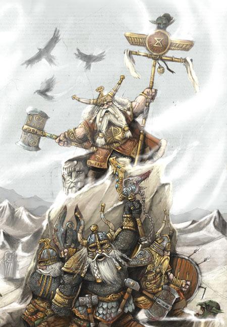 palurin warhammer campaign dwarf kingdom defends its realm