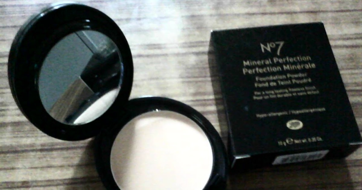 GoodiesETC: Boots No7 Mineral Perfection Foundation Powder