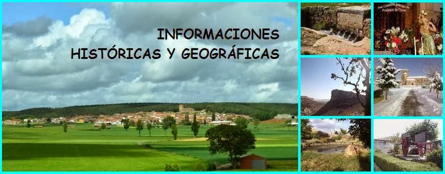 Prádanos de Ojeda: Informaciones históricas y geográficas de mi pueblo